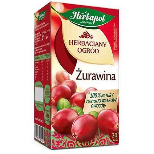 Herbatka owocowo-ziołowa Herbaciany Ogród Żurawina EX'20 50 g Herbapol