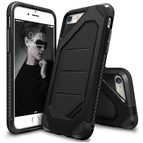 Etui Ringke MAX Apple iPhone 7 SF Black - Czarny, 8809512154780
