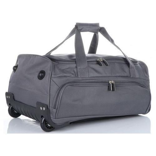 8b45b1b6b438c Torba Podróżna David Jones Na kółkach ze Stelażem Szara (kolory) 129,00 zł  Ta torba podróżna lubianej marki David Jones wnosi nową jakość do świata  bagażu.