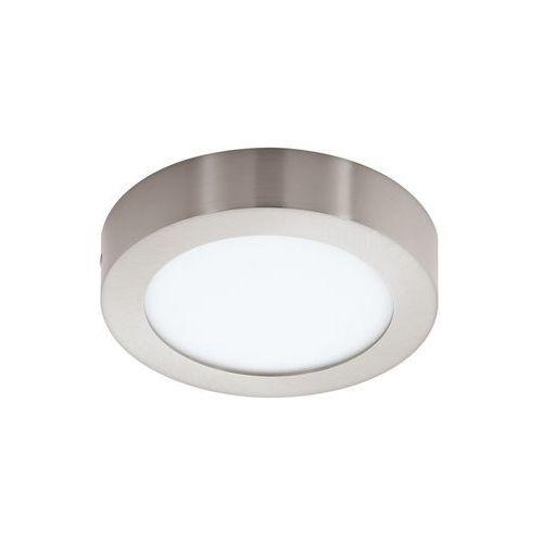 Plafon LAMPA sufitowa FUEVA 1 94523 Eglo natynkowa OPRAWA LED 11W okrągła nikiel satynowany, kolor nikiel