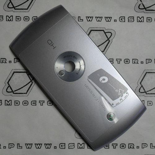 Obudowa u5i vivaz tylna / pokrywa baterii srebrna marki Sony ericsson