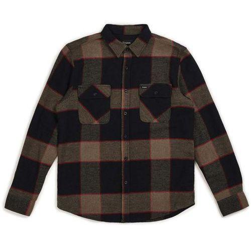 koszula BRIXTON - Bowery L/S Flannel Heather Grey/Charcoal (HTGCH) rozmiar: XL, 1 rozmiar