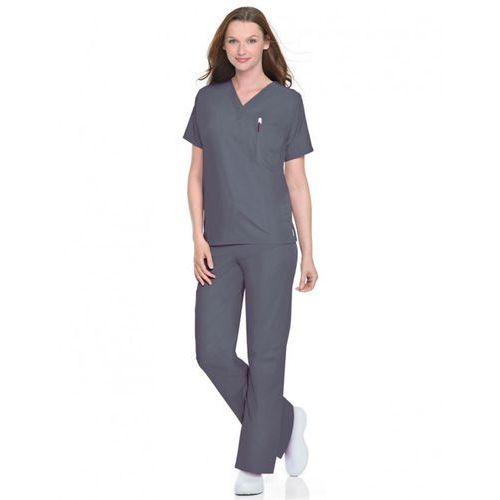 Uniwersalne (unisex) spodnie medyczne New Scrub Zone 85221 - STEEL GREY XS (odzież medyczna)