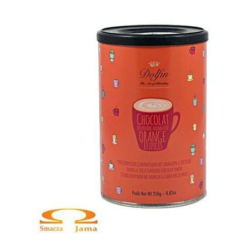 Czekolada pitna dolfin z pomarańczą i przyprawami 250g marki Dolfin the art of blending