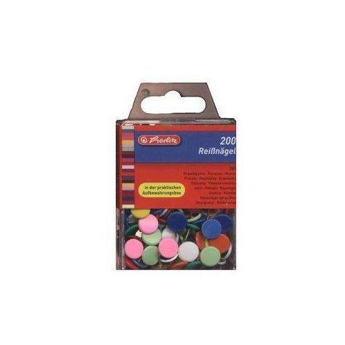 Pinezki kolorowe 200 sztuk (4008118770101)