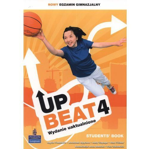 Upbeat 4. Klasa 1-3, gimnazjum. Język angielski. Podręcznik (+CD), oprawa miękka