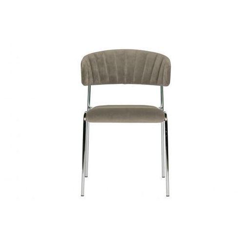 Be pure krzesło do jadalni twitch aksamit blady 800027-p