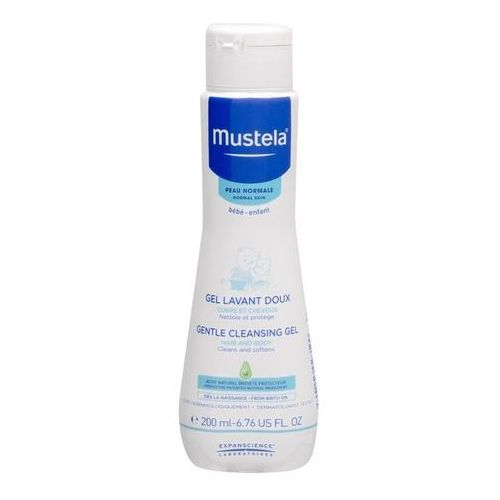 Mustela Bébé Gentle Cleansing Gel Hair and Body żel pod prysznic 200 ml dla dzieci (3504105028190)