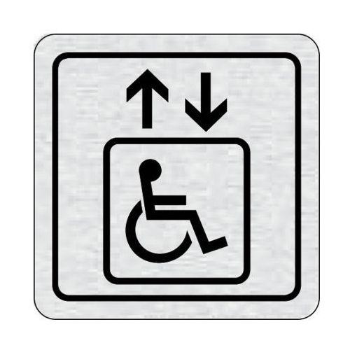 B2b partner Tabliczka na drzwi -winda dla niepełnosprawnych