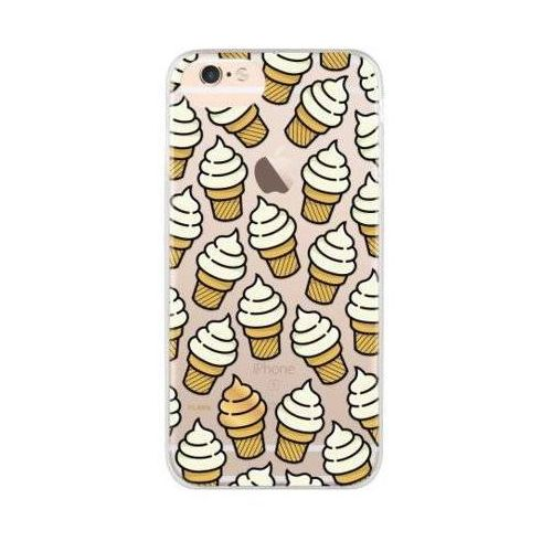 Etui iplate ice cream do apple iphone 6/6s/7/8 wielokolorowy (28359) marki Flavr