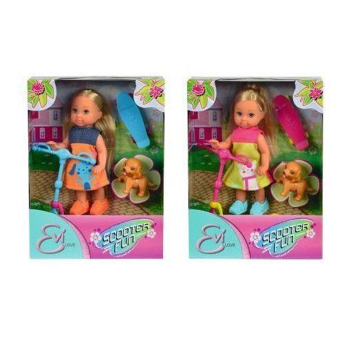 Lalka SIMBA Evi z hulajnogą z kategorii lalki