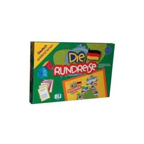 Gra językowa Niemiecki Die Rundreise. Opr. karton (9788853604675)
