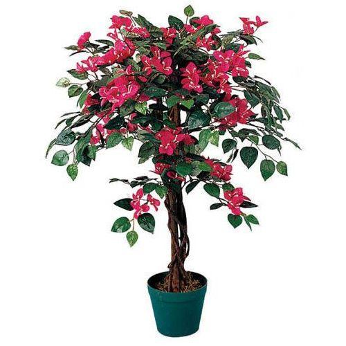 Sztuczne drzewka kwiaty drzewko bugenwilla drzewo marki Greentree