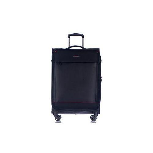 ee7b21ab250f2 walizka duża z kolekcji amsterdam miękka 4 koła materiał nylon zamek  szyfrowy możliwość poszerzenia marki Puccini 359,00 zł Walizka Puccini z  linii ...
