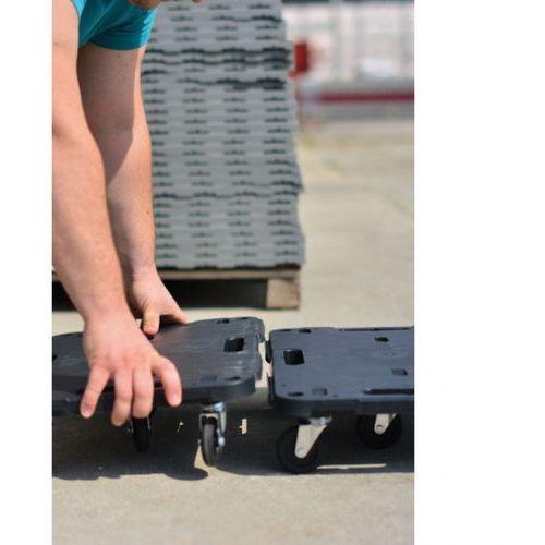 B2b partner Platforma transportowa, 580x380 mm, nośność 540 kg