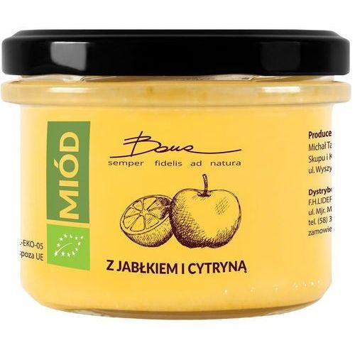 Bona Miód wielokwiatowy z jabłkiem i cytryną bio 250 g - (5905669291309)