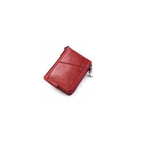 c0f880ba021ec Portfel damski mały czerwony skórzany 89,00 zł UWAGA!!! Z obecnej dostawy  kolor różni się od tego na oryginalnym obrazku. Odcień portfela jest  ciemniejszy, ...
