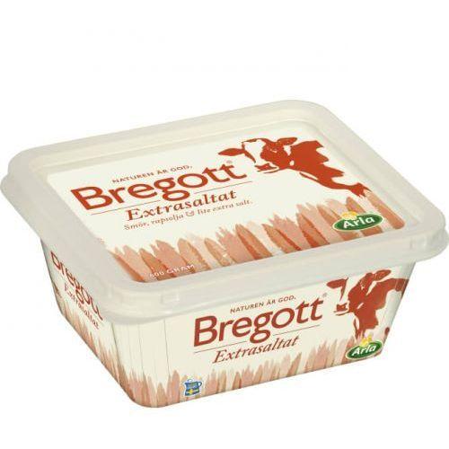 Bregott - extrasaltat 75% - masło z dużą zawartością soli - 600g - ważność: 09.02.2021