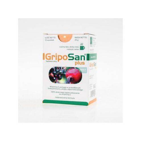 Griposan Plus, proszek, 2 g, 10 saszetek - produkt farmaceutyczny