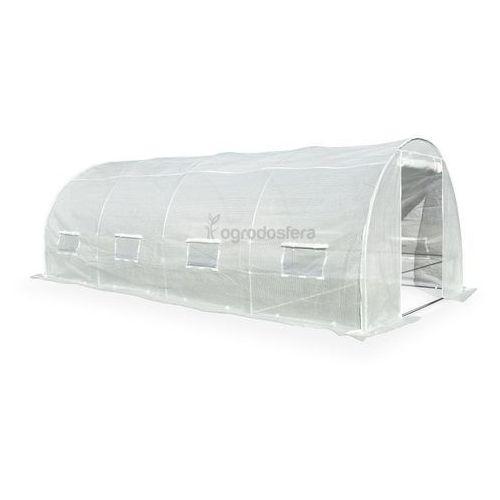 Tunel foliowy do uprawy roślin 3x6m biały - Transport GRATIS!