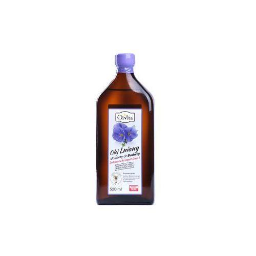 Olej lniany budwigowy 250ml marki Olvita