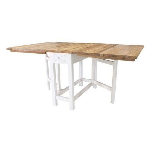 Hk Living :: Stół składany - blat naturalny - naturalny odcień drewna - produkt dostępny w 9design.pl