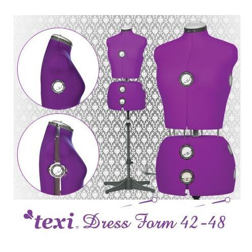 Manekin krawiecki Texi Dress Form regulowany w rozmiarze 42-48 - produkt dostępny w Babas.pl