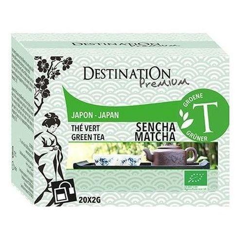 211destination Herbata zielona sencha z matchą japońska 20x2g - destination
