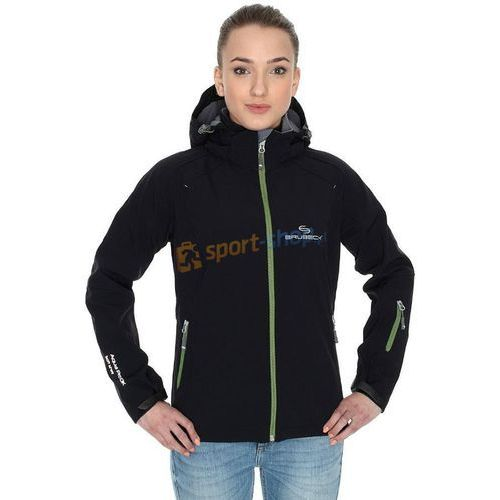 Kurtka damska Soft Shell Brubeck (czarna) - produkt dostępny w SPORT-SHOP.PL