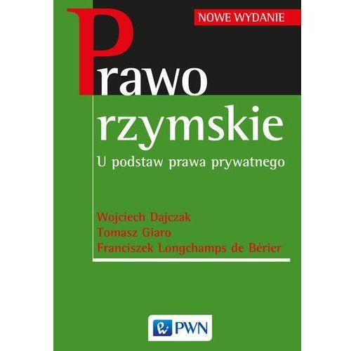 Prawo rzymskie (9788301177577)