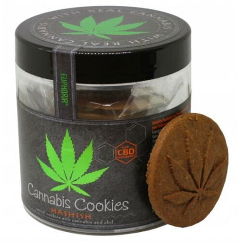 Euphoria Ciastka konopne cannabis cookies hashish 120 g