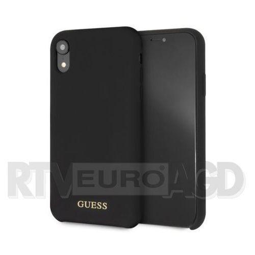 Guess GUHCI61LSGLBK iPhone Xr (czarny), GUE000248