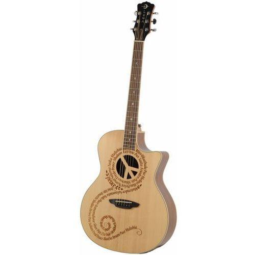 oracle peace natural gitara elektroakustyczna b-stock marki Luna