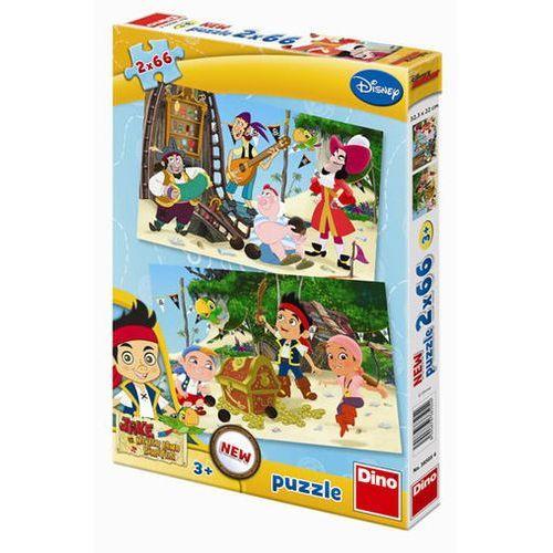 Jake a Piráti - puzzle 2 motivy v balení neuveden