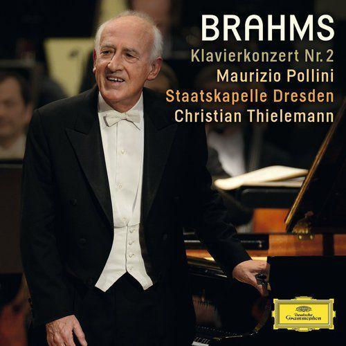 BRAHMS PIANO CONCERTO 2 - Maurizio Pollini (Płyta CD), 4792384