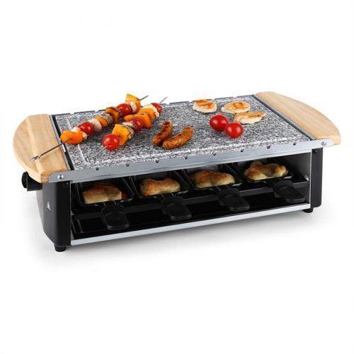 Klarstein Chateaubriand grill raclettepłyta kamienna8 osób 1200 watów