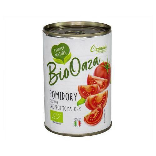 """BIO pomidory krojone bez skórki 400g """"BIO OAZA"""" 1 szt."""