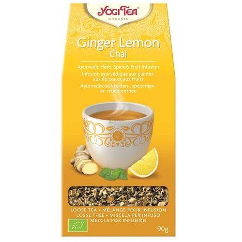 Yogi tea (herbatki) Herbatka imbirowo - cytrynowa bio 90 g - yogi tea