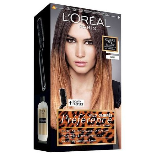 L'Oréal Farba do włosów Preference Wild Ombres - N1, L'Oréal