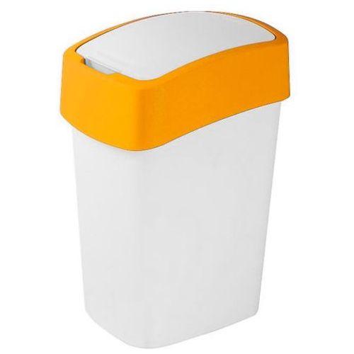 Kosz do segregacji śmieci FLIP BIN 50l pomarańczowy - produkt dostępny w OLE.PL Profesjonalne Rozwiązania Higieniczne