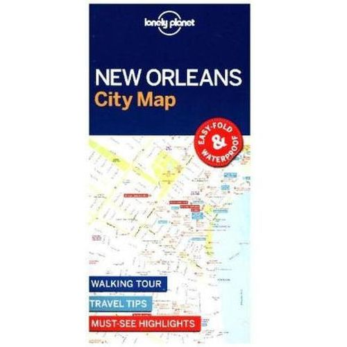 Lonely Planet New Orleans City Map (2 str.)