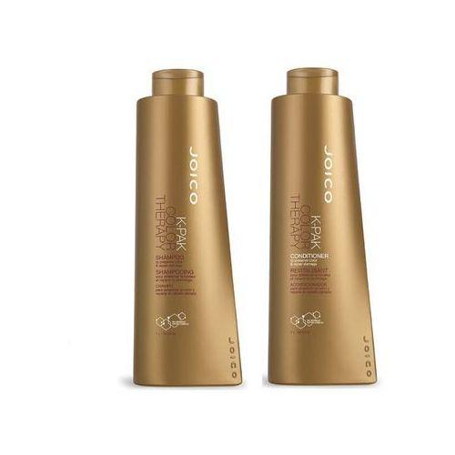 Joico K-Pak Color Therapy | Zestaw do włosów farbowanych: Szampon + Odżywka 1000ml