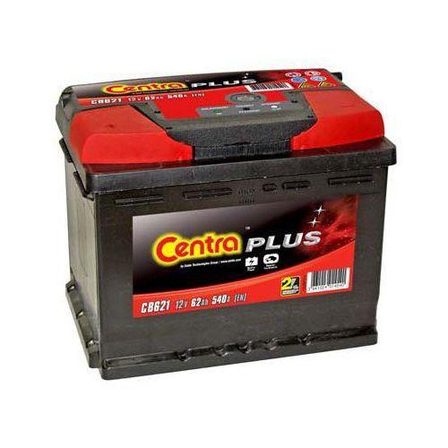 Akumulator Centra Plus 12V 62Ah 540A L+ (wymiary: 242 x 175 x 190) (CB621)