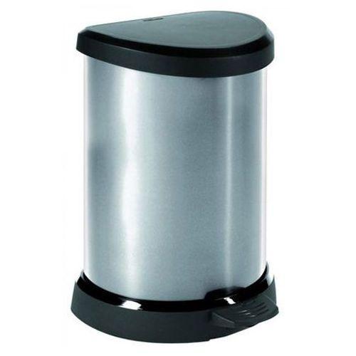 Kosz na śmieci metalizowany 20l - produkt dostępny w OLE.PL Profesjonalne Rozwiązania Higieniczne