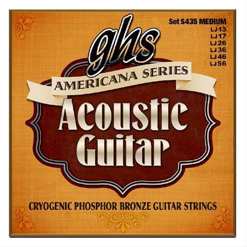 GHS Americana Series - struny do gitary akustycznej, Phosphor Bronze, Light,.013-.056