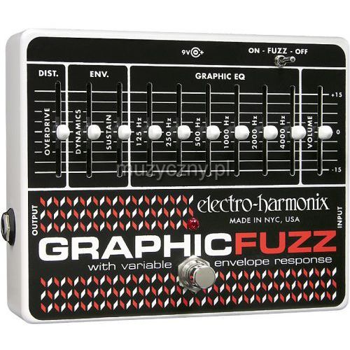 Electro Harmonix Graphic Fuzz efekt do gitary