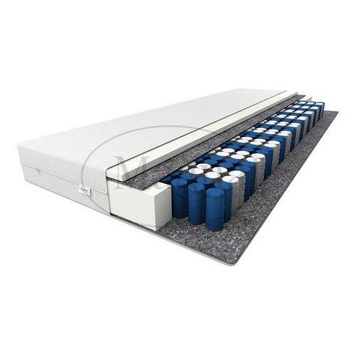 Łóżko drewniane ania 90x200 z materacem kieszeniowym marki Magnat - producent mebli drewnianych i materacy