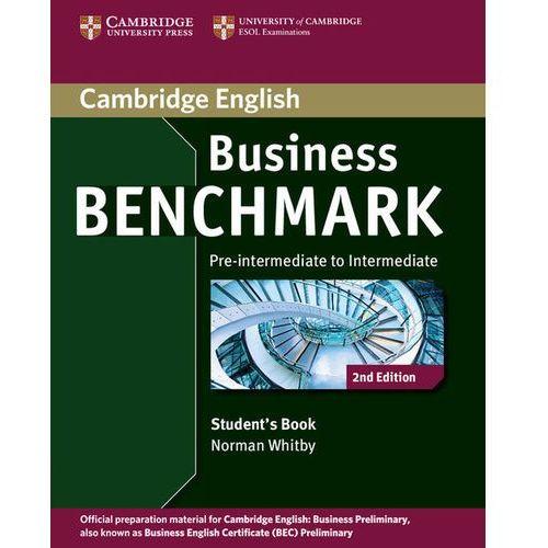 Business benchmark pre-intermediate to intermediate Student's book (2013)