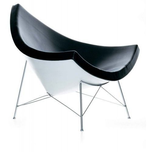 D2.design Fotel coco inspirowany coconut - czarny