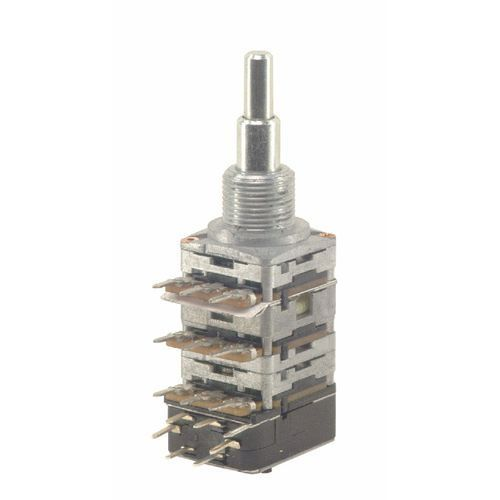 Mec 16 mm potencjometr gitarowy vol-bal-pp fpas pu stacked b500k-05a220k-05c220kcc